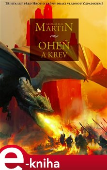 Obálka titulu Oheň a krev