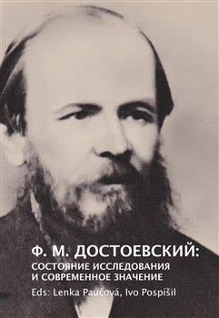 Obálka titulu F. M. Dostojevskij