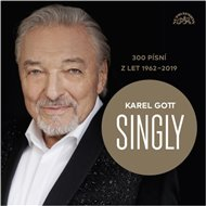 Singly - Karel Gott / 300 písní z let 1962-2019