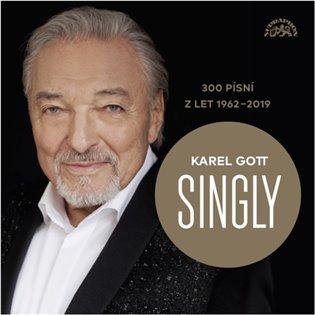 CD KAREL GOTT SINGLY 300 PÍSNÍ/SUPRAPHON
