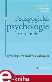 Obálka titulu Pedagogická psychologie pro učitele