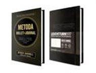 Kniha Metoda Bullet Journal + originální zápisník Bullet Journal Leuchtturm1917 černý