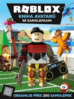 Obálka titulu Roblox - Kniha avatarů se samolepkami