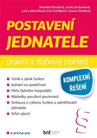 Postavení jednatele - právní a daňový pohled - Zuzana Ďuríková, | Booksquad.ink