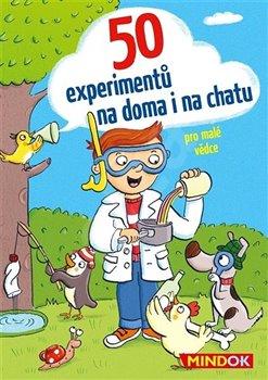 Obálka titulu 50 experimentů na doma i na chatu