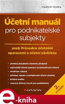 Obálka titulu Účetní manuál pro podnikatelské subjekty - 2. vydání