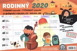Obálka titulu Týdenní rodinný plánovací kalendář s háčkem 2020, 30 × 21 cm