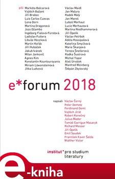 Obálka titulu E-Forum 2018