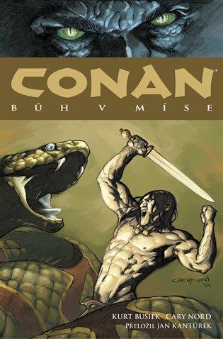 Conan 2: Bůh v míse - Kurt Busiek,   Booksquad.ink