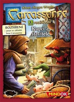 Obálka titulu Carcassonne: Rozšíření 2: Kupci a stavitelé