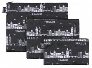 Set 3 taštiček Praha - - | Booksquad.ink