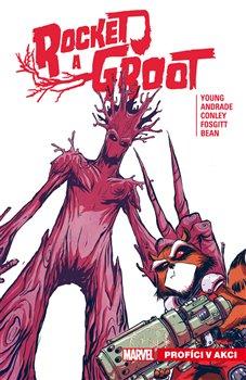 Obálka titulu Rocket a Groot 1: Profíci v akci