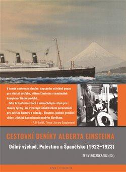 Obálka titulu Cestovní deníky Alberta Einsteina