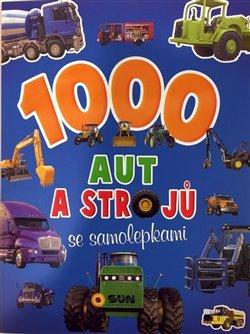 Obálka titulu 1000 aut a strojů se samolepkami
