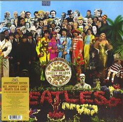 Obálka titulu Sgt. Pepper's Lonely Hearts Club Band