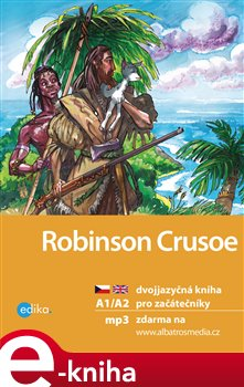 Obálka titulu Robinson Crusoe A1/A2