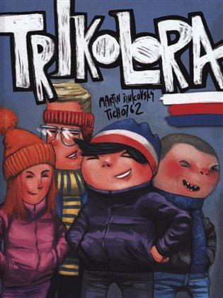 Trikolora:Sametový komiks - Martin Šinkovský,   Booksquad.ink