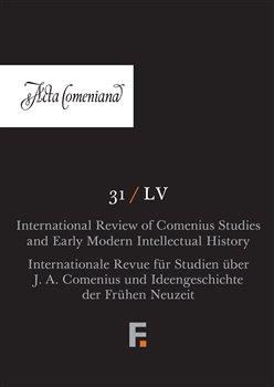 Obálka titulu Acta Comeniana 31 (LV)