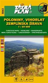 Poloniny, Vihorlat, Zemplínska šírava 1:50 000