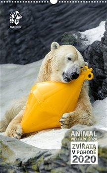 Obálka titulu Nástěnný kalendář Zoo Praha 2020 - Zvířata v pohodě