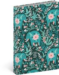 Denní diář Cambio Fun 2020, sloni 15 × 21 cm
