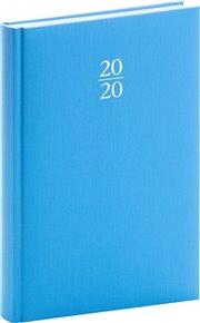 Denní diář Capys 2020, světle modrý, 15 × 21 cm