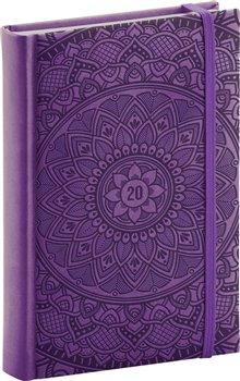 Denní diář Vivella Speciál 2020, mandala 15 × 21 cm