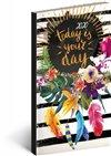 Obálka knihy Kapesní diář Cambio Fun 2020, your day 9 × 15,5 cm
