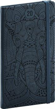 Obálka titulu Kapesní diář Vivella Speciál 2020, slon 9 × 15,5 cm