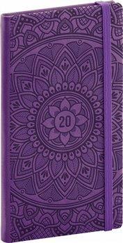 Obálka titulu Kapesní diář Vivella Speciál 2020, mandala 2020, 9 × 15,5 cm