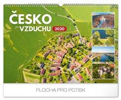 Nástěnný kalendář Česko ze vzduchu 2020, 48 × 33 cm