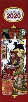 Obálka titulu Nástěnný kalendář Josef Lada – Pohádky 2020, 12 × 48 cm