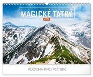 Nástěnný kalendář Magické Tatry 2020, 48 × 33 cm