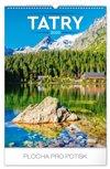 Obálka knihy Nástěnný kalendář Tatry 2020, 33 × 46 cm