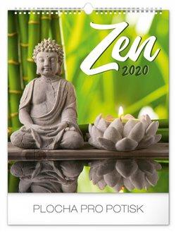Obálka titulu Nástěnný kalendář Zen 2020, 30 × 34 cm
