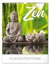 Obálka knihy Nástěnný kalendář Zen 2020, 30 × 34 cm