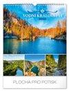 Obálka knihy Nástěnný kalendář Vodní království 2020, 30 × 34 cm