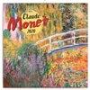 Obálka knihy Poznámkový kalendář Claude Monet 2020, 30 × 30 cm