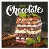 Obálka knihy Poznámkový kalendář Čokoláda 2020, voňavý, 30 × 30 cm