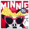 Obálka knihy Poznámkový kalendář Minnie 2020, s 50 samolepkami, 30 × 30 cm