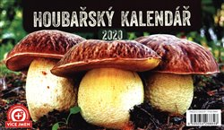 Obálka titulu Stolní Houbařský kalendář 2020, 23,1 × 14,5 cm