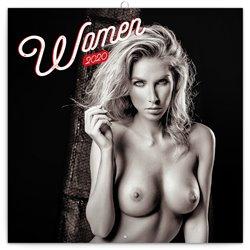 Poznámkový kalendář Women 2020, 30 × 30 cm
