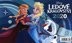 Obálka titulu Stolní kalendář Frozen – Ledové království 2020, 23,1 × 14,5 cm