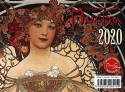 Obálka titulu Stolní kalendář Alfons Mucha 2020, 16,5 × 13 cm