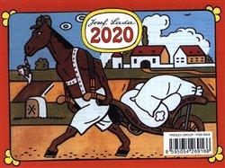 Obálka titulu Stolní kalendář Josef Lada – Zvířátka 2020, 16,5 × 13 cm