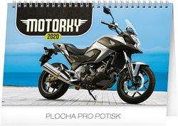 Stolní kalendář Motorky 2020, 23,1 × 14,5 cm