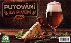 Obálka titulu Stolní kalendář Putování za pivem 2020, 23,1 × 14,5 cm