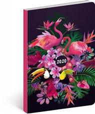 Ultralehký diář Tukan 2020, 11 × 17 cm
