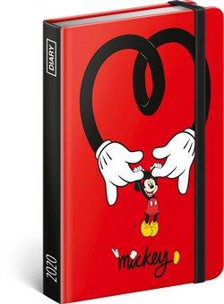 Obálka titulu Týdenní diář Mickey 2020, 11 × 16 cm