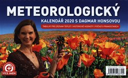 Obálka titulu Stolní Meteorologický kalendář s Dagmar Honsovou 2020, 23,1 × 14,5 cm